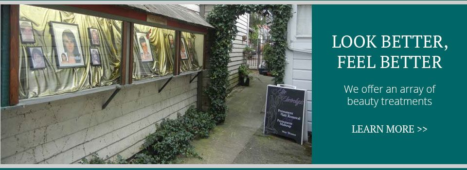 Look Better, Feel Better | We offer an array of beauty treatments| outside building